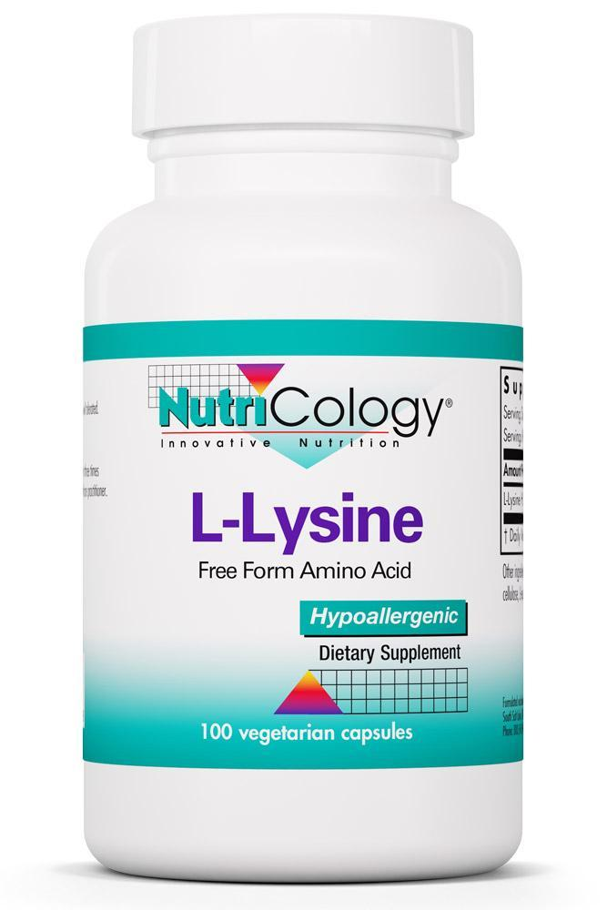 L-Lysine 500 Mg 100 Vegetarian Caps