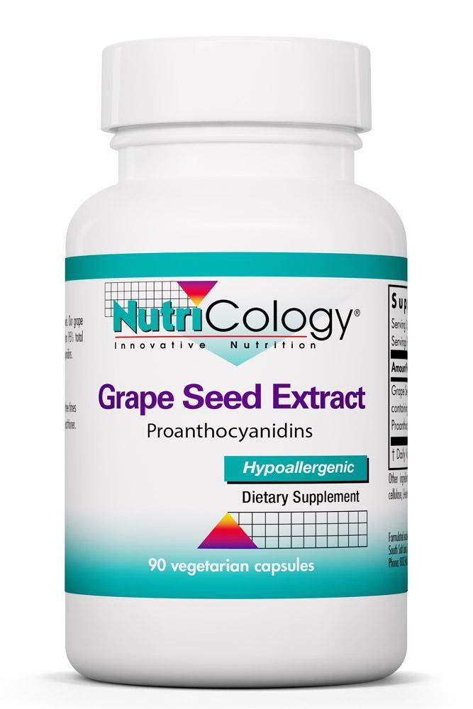 Grape Seed Extract 90 Vegetarian Capsules