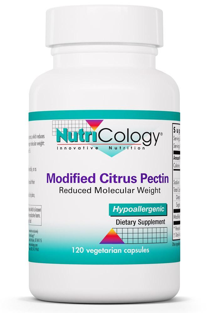 Modified Citrus Pectin 120 Vegetarian Capsules