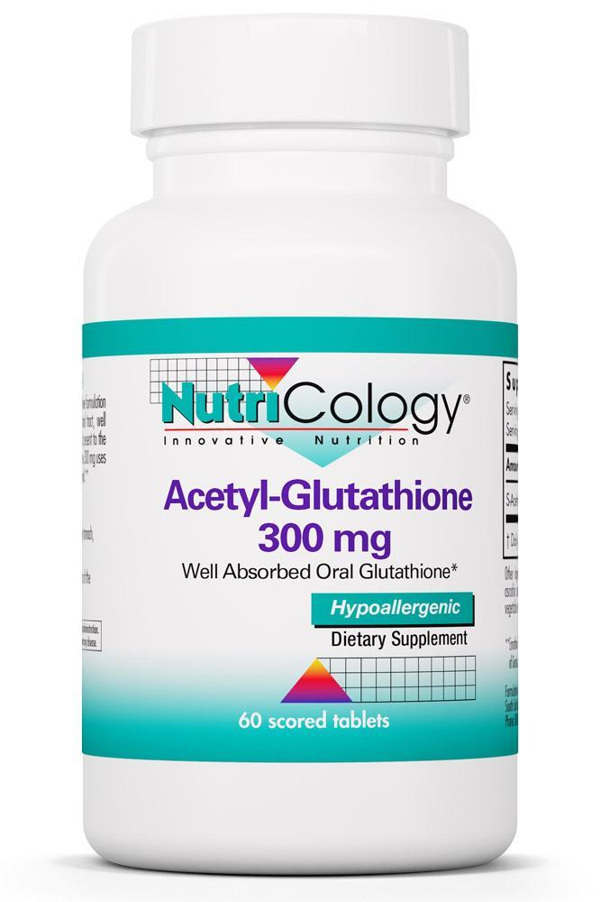 Acetyl-Glutathione 300 mg 60 Scored Tablets