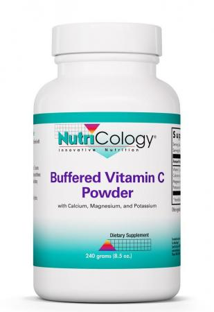 Buffered Vitamin C Powder with Calcium, Magnesium and Potassium 240 Grams  (8.5 oz)