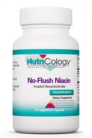 No-Flush Niacin 75 Vegetarian Capsules