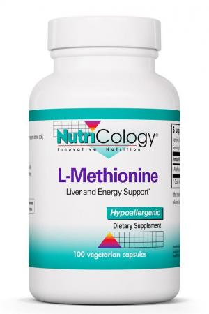 L-Methionine 500 Mg 100 Vegetarian Caps