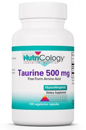 Taurine 500 Mg 100 Vegetarian Caps