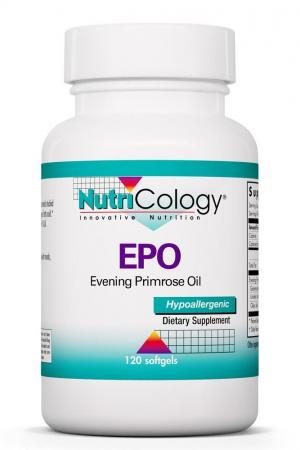 EPO Evening Primrose Oil 120 Softgels