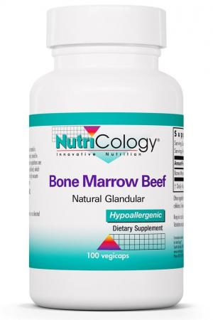 Bone Marrow Beef Natural Glandular 100 Capsules