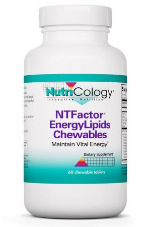NTFactor® EnergyLipids Chewables 60 chewable tablets