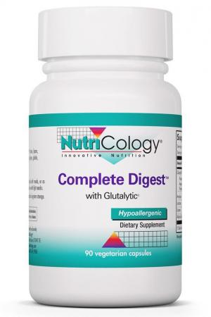 Complete Digest™ With Glutalytic® 90 Vegetarian Capsules