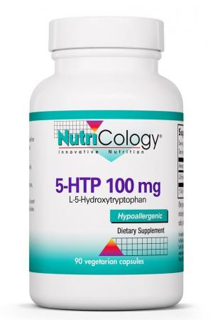 5-HTP 100 mg L-5-Hydroxytryptophan 90 Vegetarian Capsules