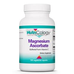 Magnesium Ascorbate Buffered Form Vitamin C 100 Vegetarian Caps