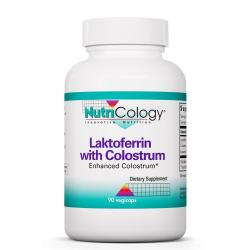 Laktoferrin with Colostrum 90 Vegetarian Capsules
