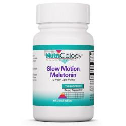 Slow Motion Melatonin 1.2 mg in Lipid Matrix 60 Scored Tablets