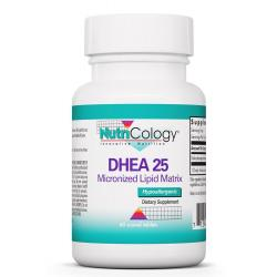 DHEA 25 mg Micronized Lipid Matrix 60 Scored Tabs