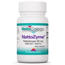 NattoZyme Nattokinase 50 mg NSK-SD® 1000 Fibrinolytic Units