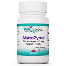 NattoZyme Nattokinase 100 mg NSK-SD® 2000 Fibrinolytic Units