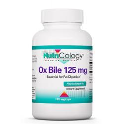 Ox Bile 125 mg 180 Vegicaps