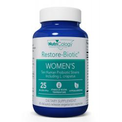 Restore-Biotic™ WOMEN'S 60 delayed-release vegetarian capsules